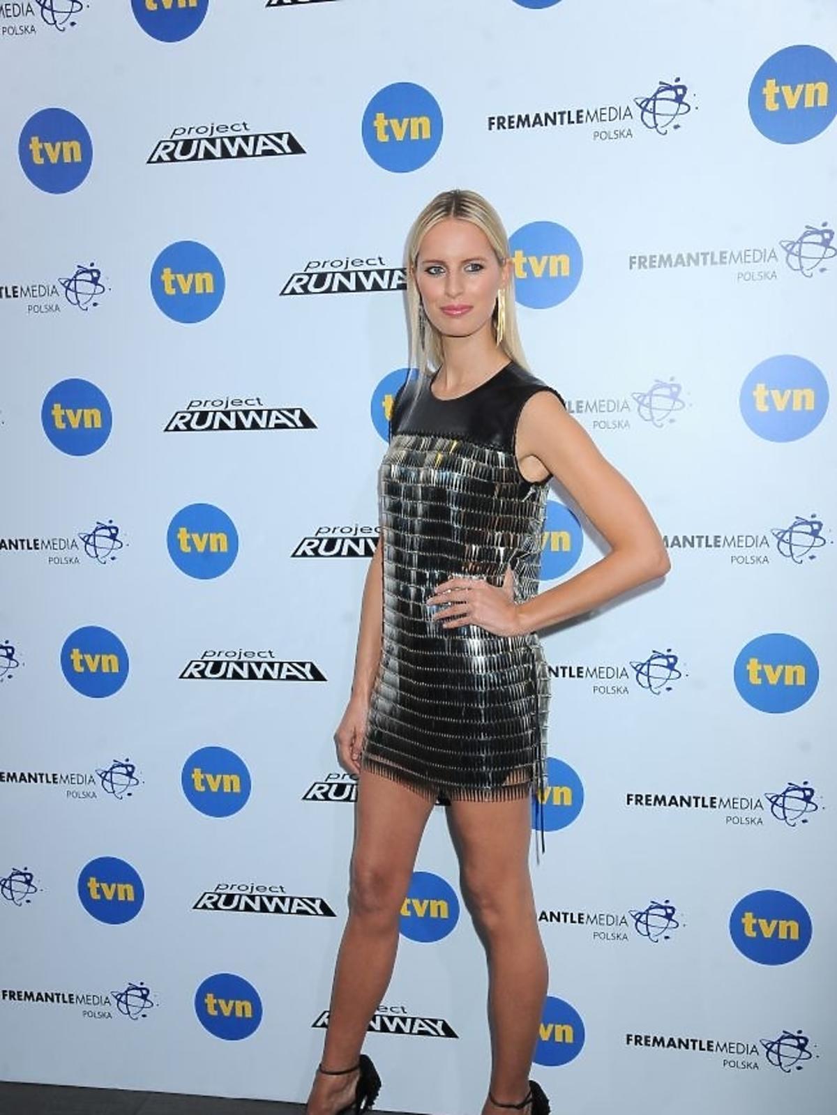 Karolina Kurkova w finale Project Runway 2