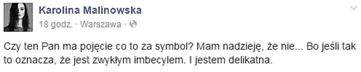 Karolina Malinowska o Michale Witkowskim
