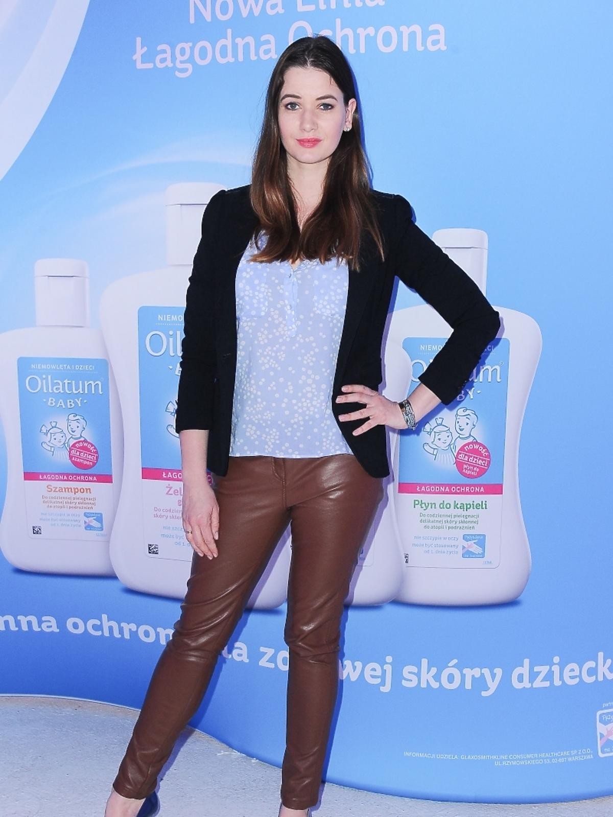 Karolina Malinowska promuje płyn Oilatum Baby