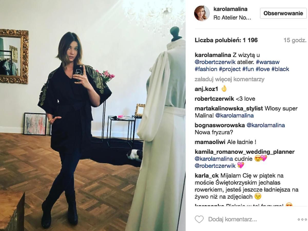 Karolina Malinowska ścięła włosy