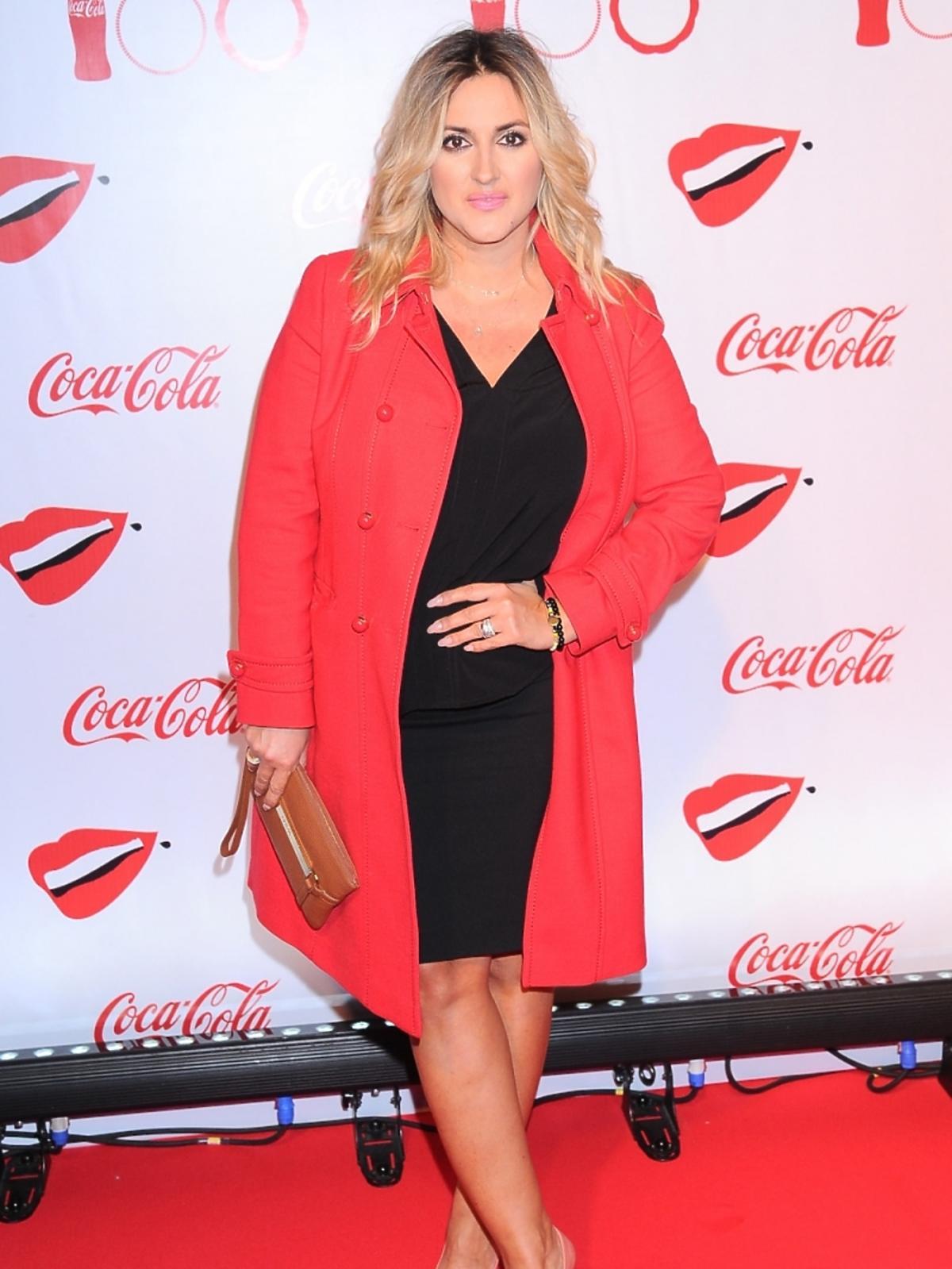Karolina Szostak na imprezie Coca- Coli