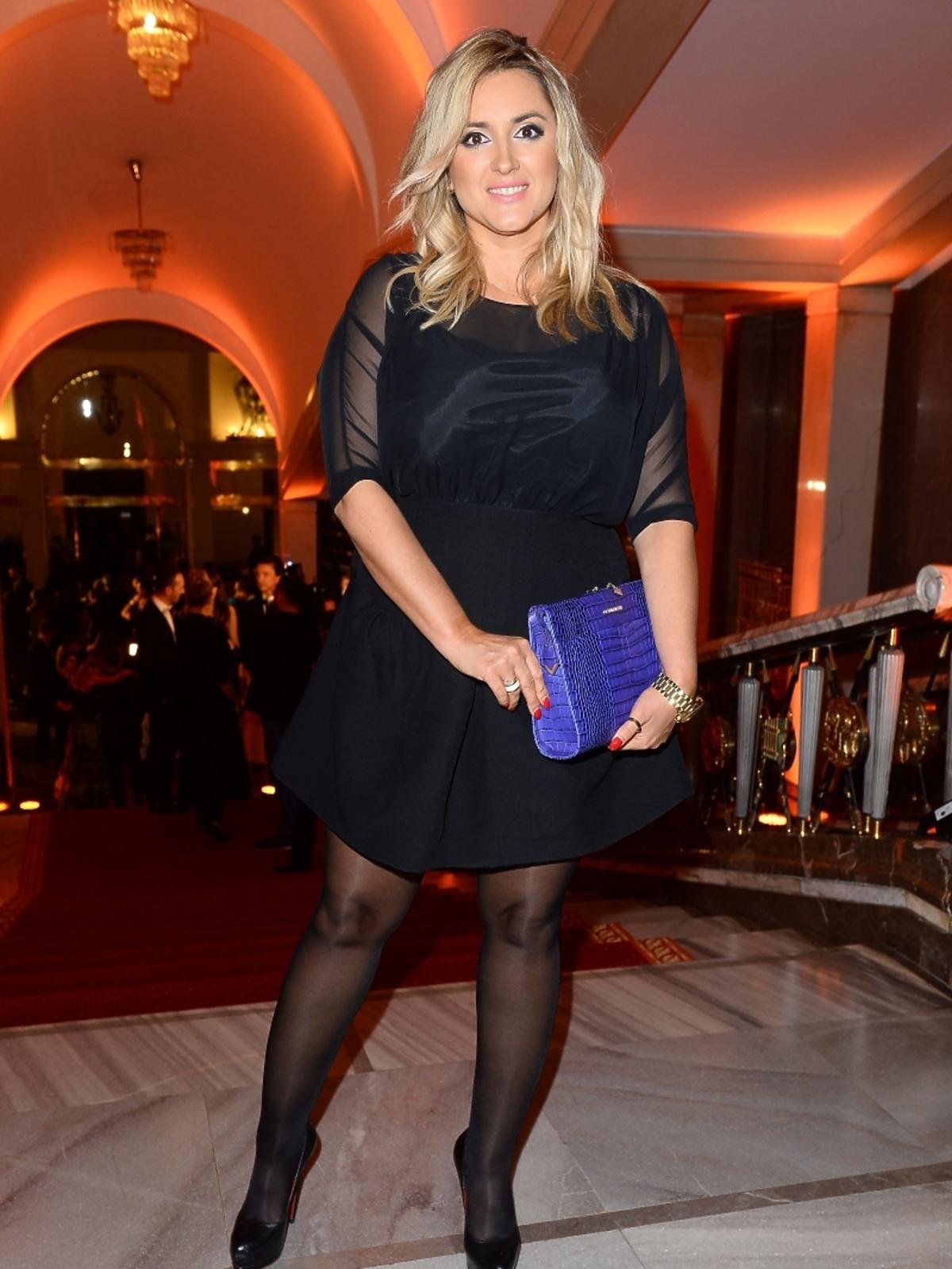 Karolina Szostak na imprezie Flesz Fashion Night