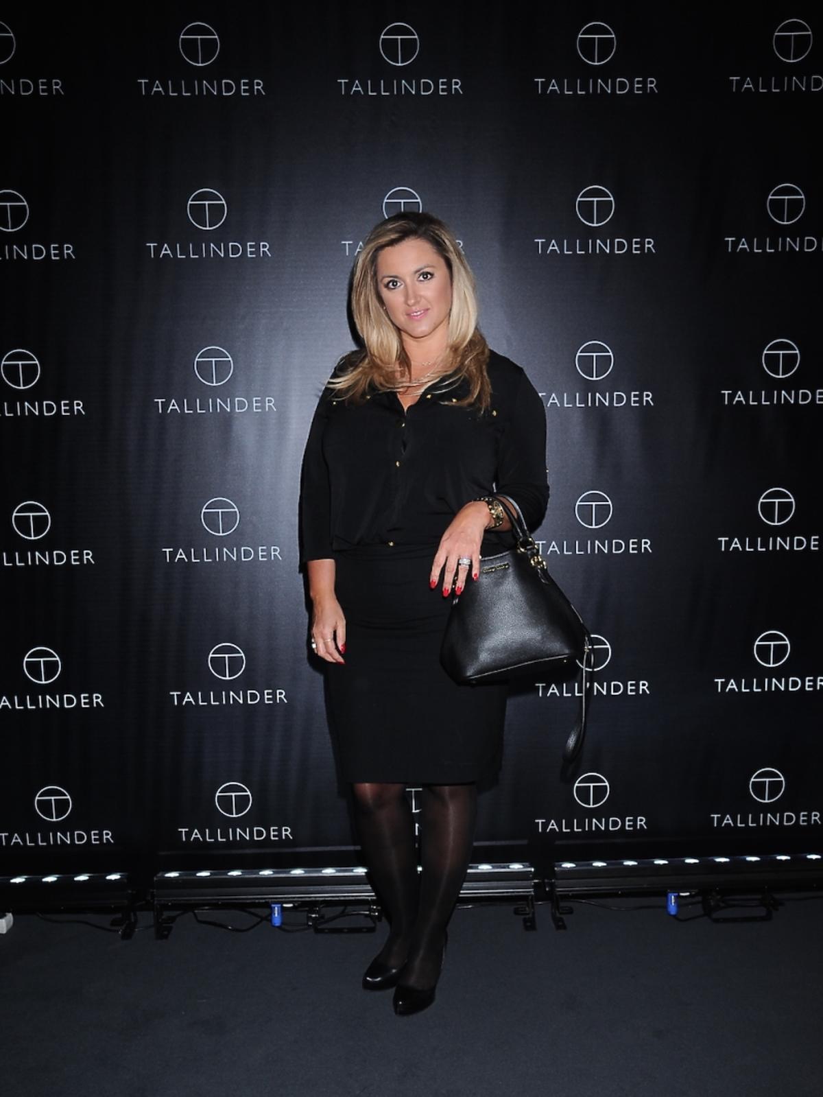Karolina Szostak na prezentacji marki Tallinder