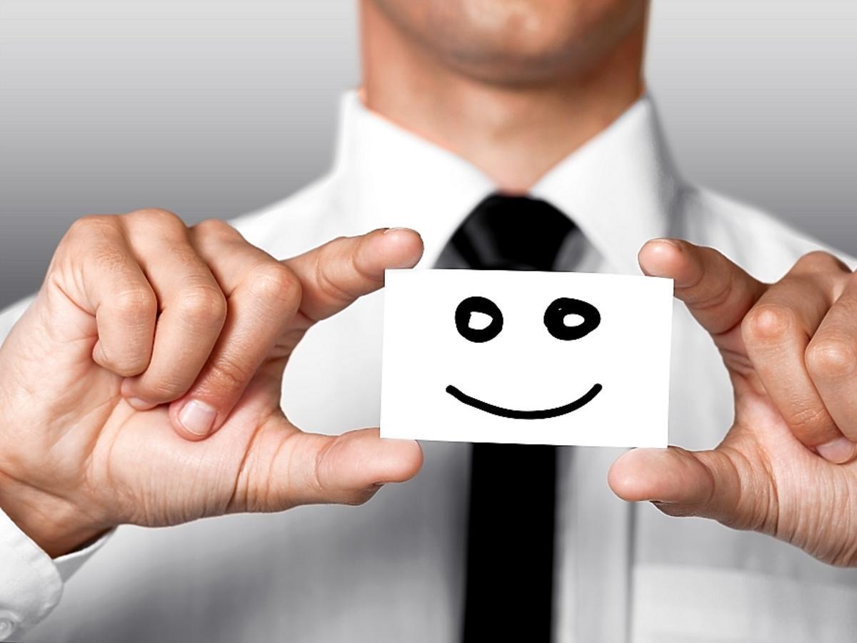 Kartka z uśmiechem