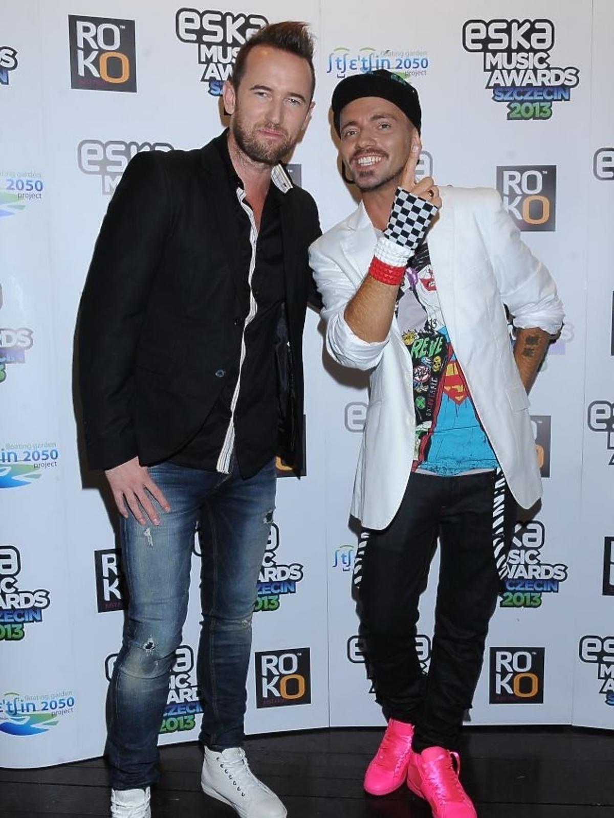 KASE and Wrethov na gali Eska Music Awards 2013