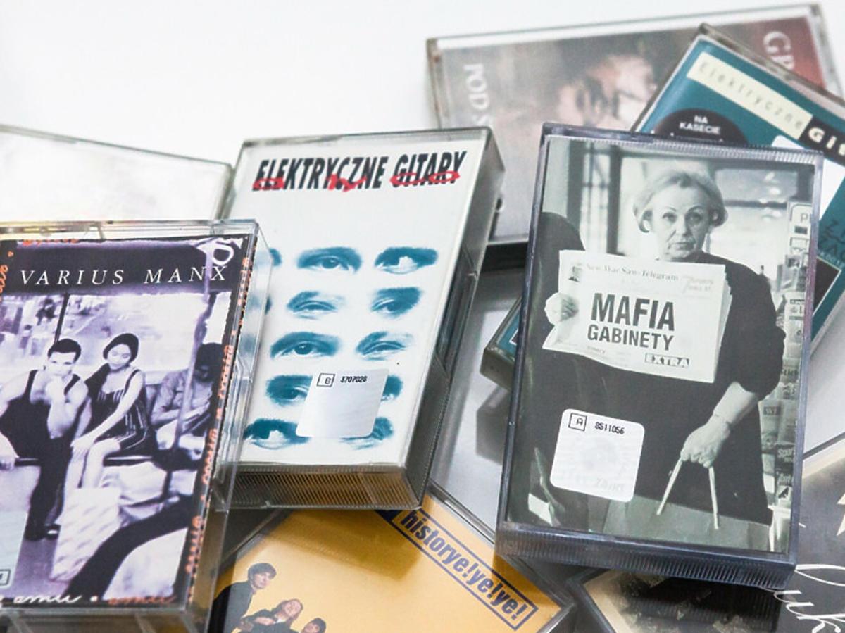 Kasety magnetofonowe, polska muzyka