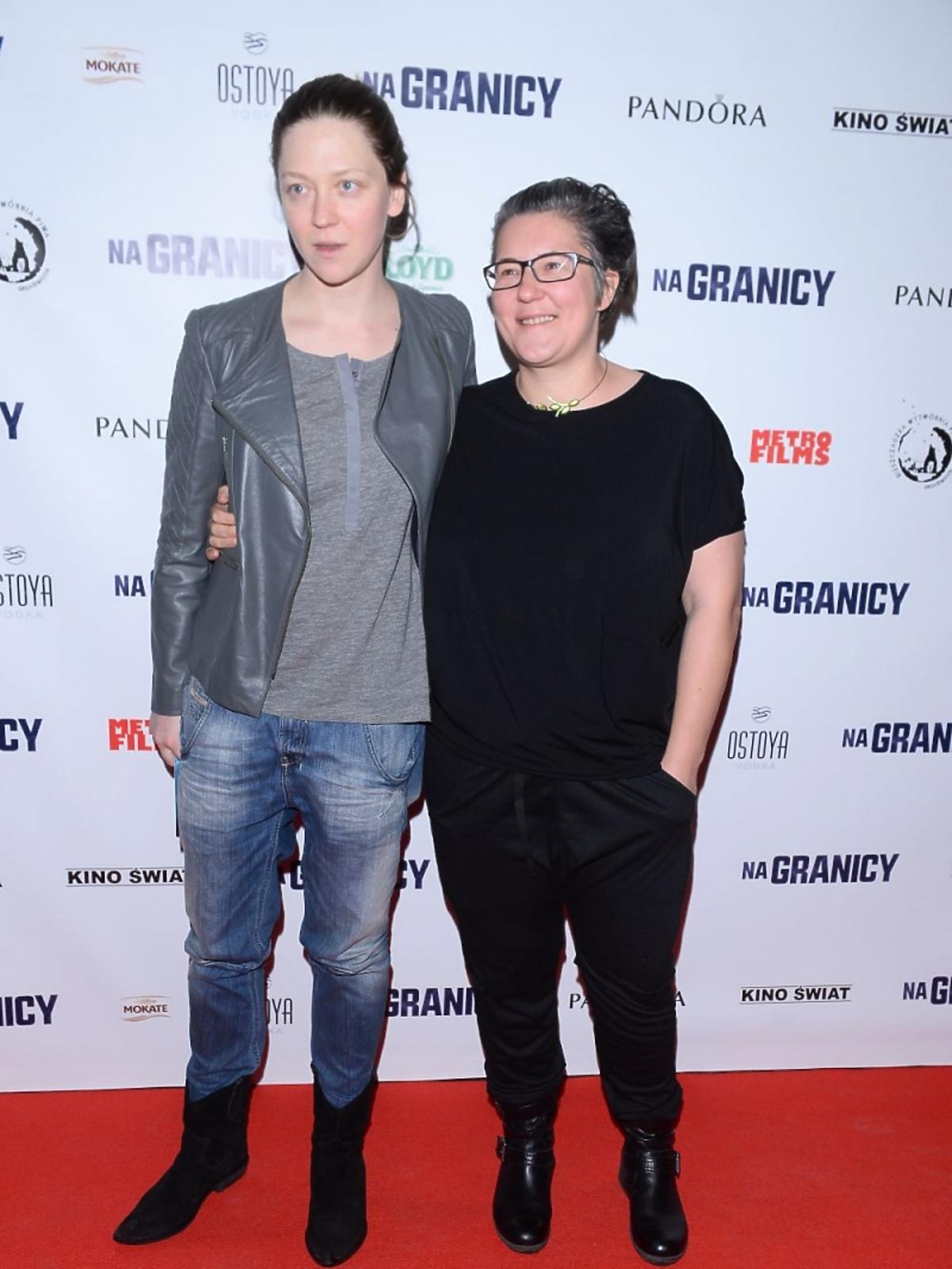 Kasia Adamik i Olga Chajdas na premierze filmu