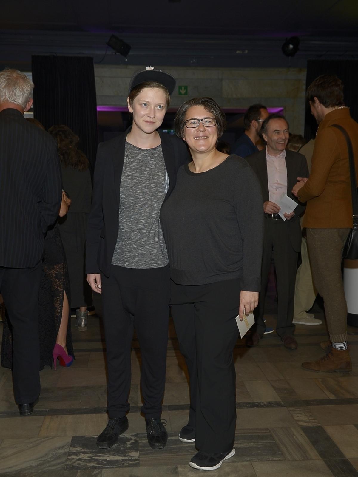 Kasia Adamik, Olga Chajdas na premierze spektaklu