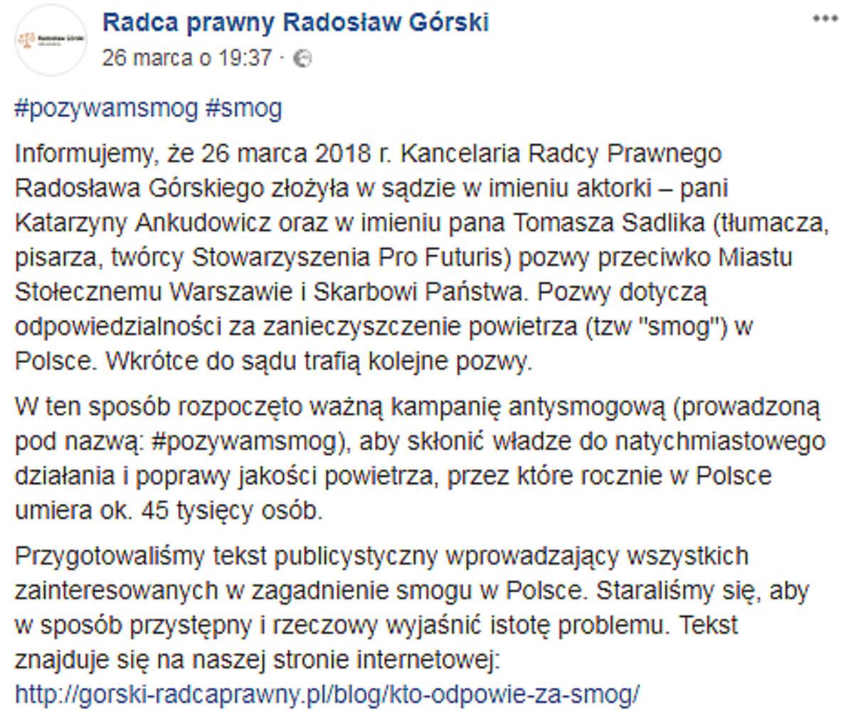 Kasia Ankudowicz pozywa Warszawę!