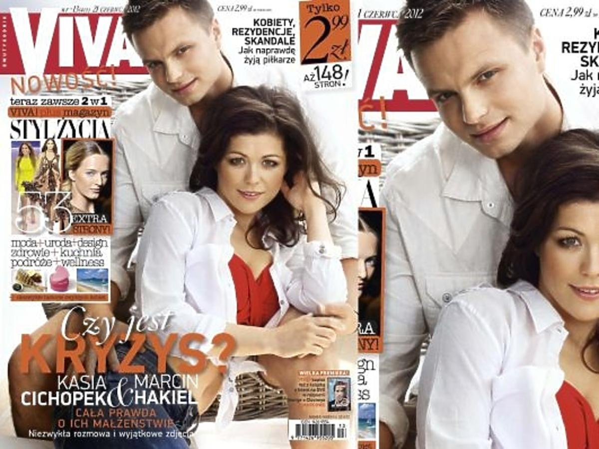 Kasia Cichopek i Marcin Hakiel na okładce Vivy!