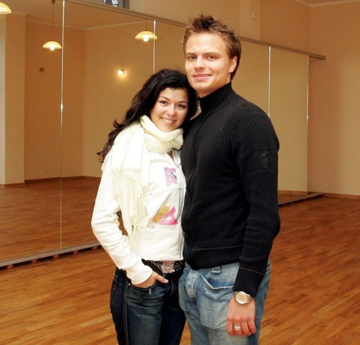 Kasia Cichopek i Marcin Hakiel na początku znajomości