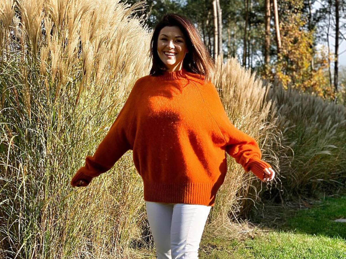 Kasia Cichopek sweter