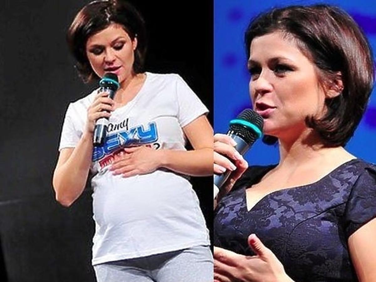 Kasia Cichopek w 7 miesiącu ciąży