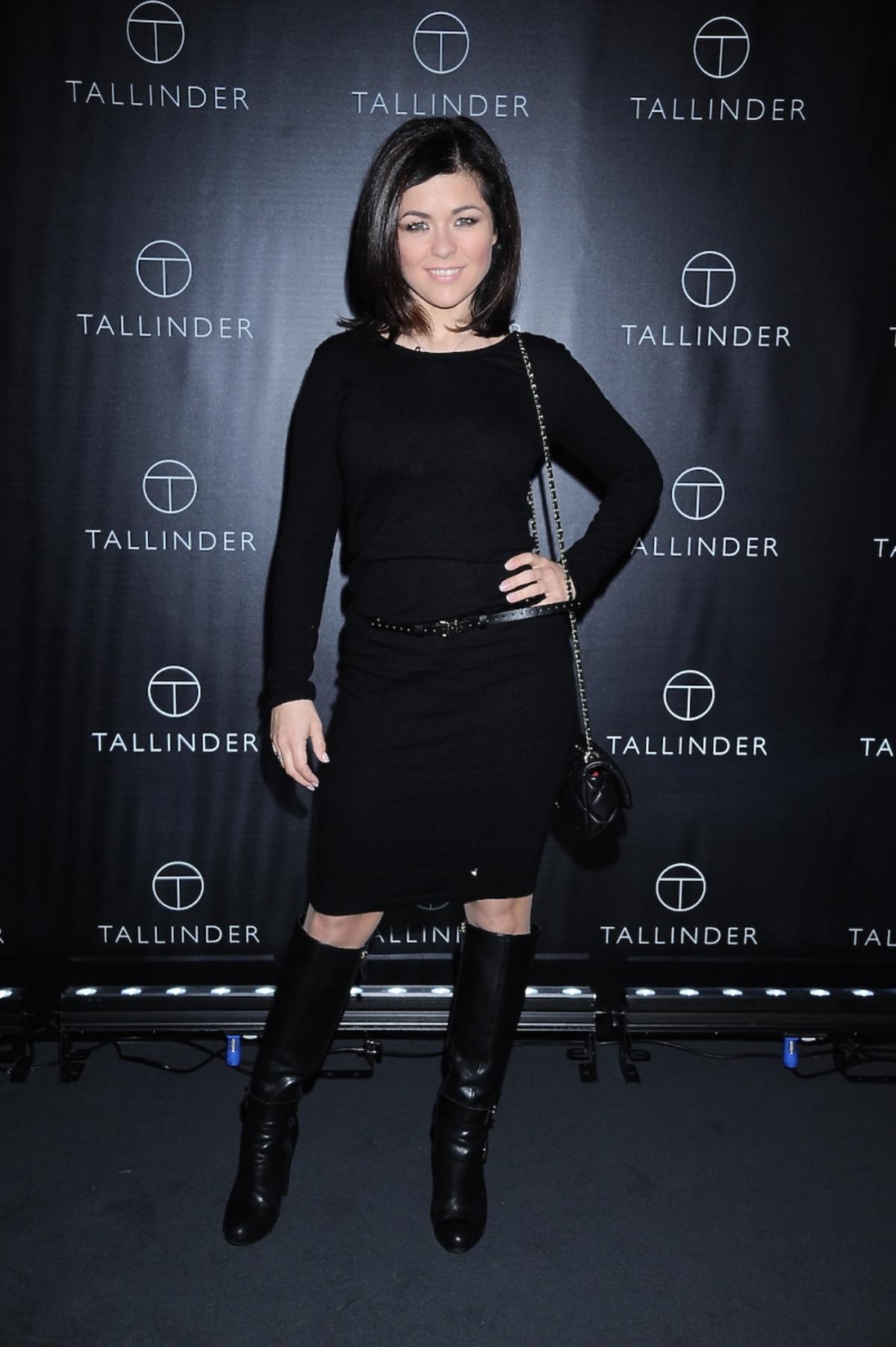 Kasia Cichopek w czarnej sukience