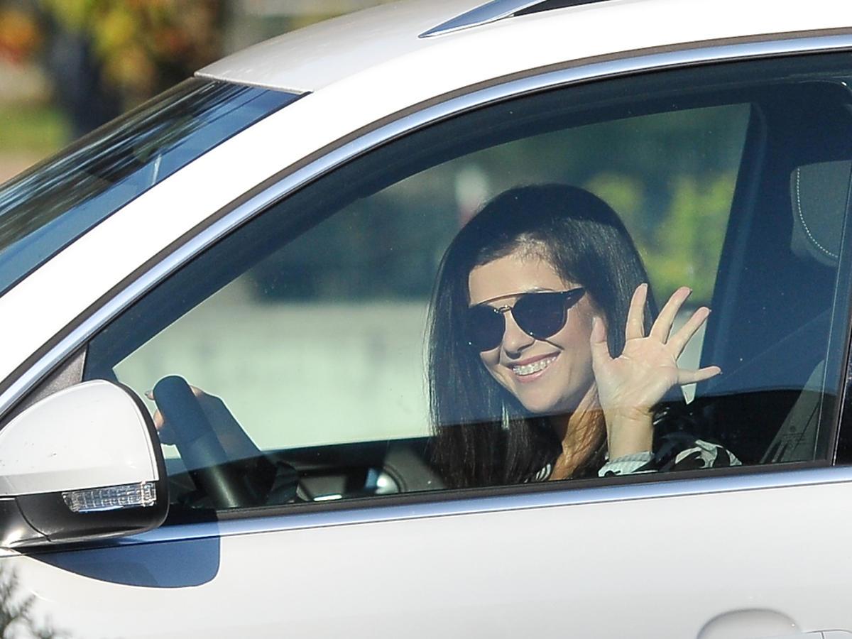 Kasia Cichopek w samochodzie