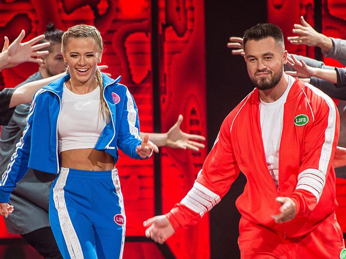 Kasia Dziurka i Emilian Gankowski w dresach