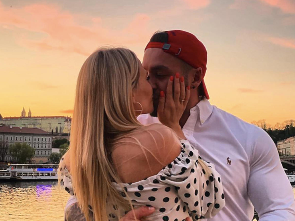 Kasia Dziurska, Emilian Gankowski zaręczyli się w Czechach