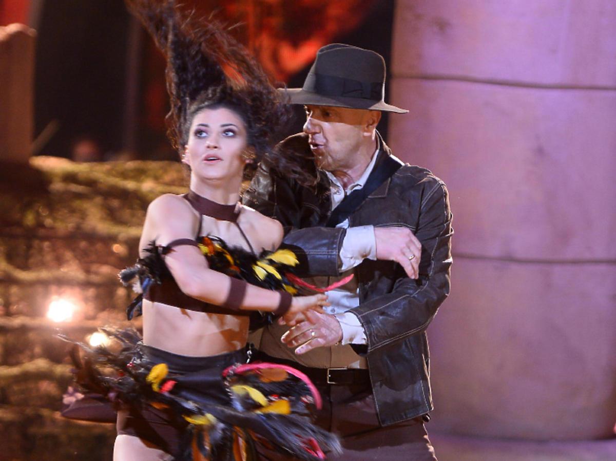 Kasia i Mariusz z Tańca z Gwiazdami jako Indiana Jones