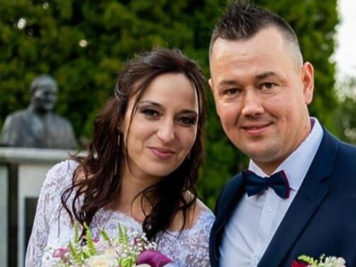 """Kasia i Piotr z """"Rolnik szuka żony"""" w ślubnych stylizacjach"""