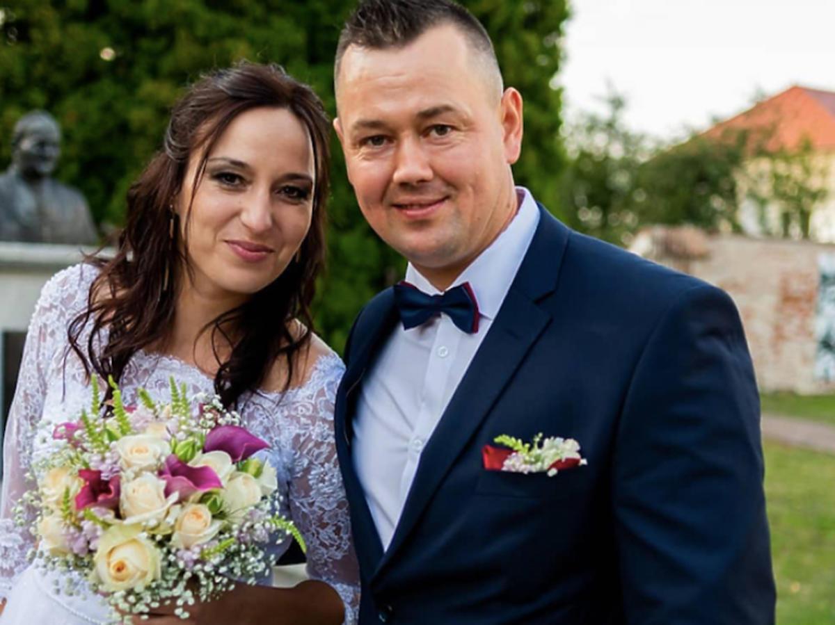 Kasia i Piotr zdjęcie ze ślubu