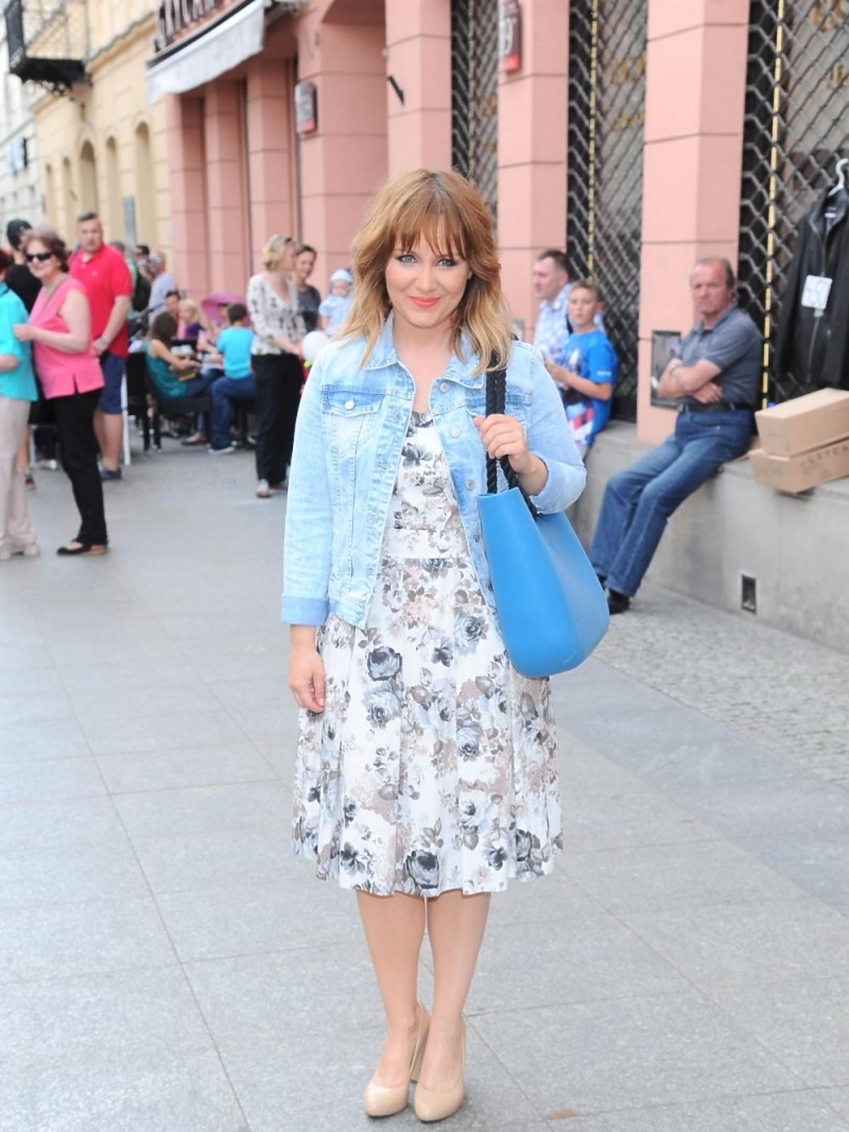 Kasia Klich na Street Fashion