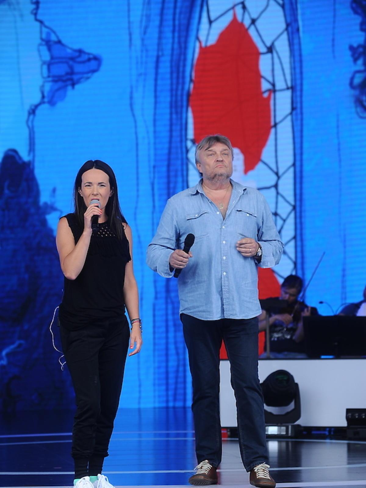 Kasia Kowalska, Krzysztof Cugowski na scenie