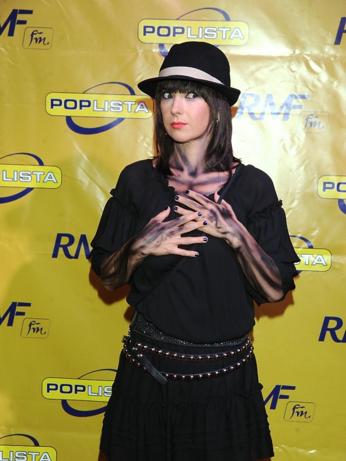 Kasia Kowalska w Halloween 2009
