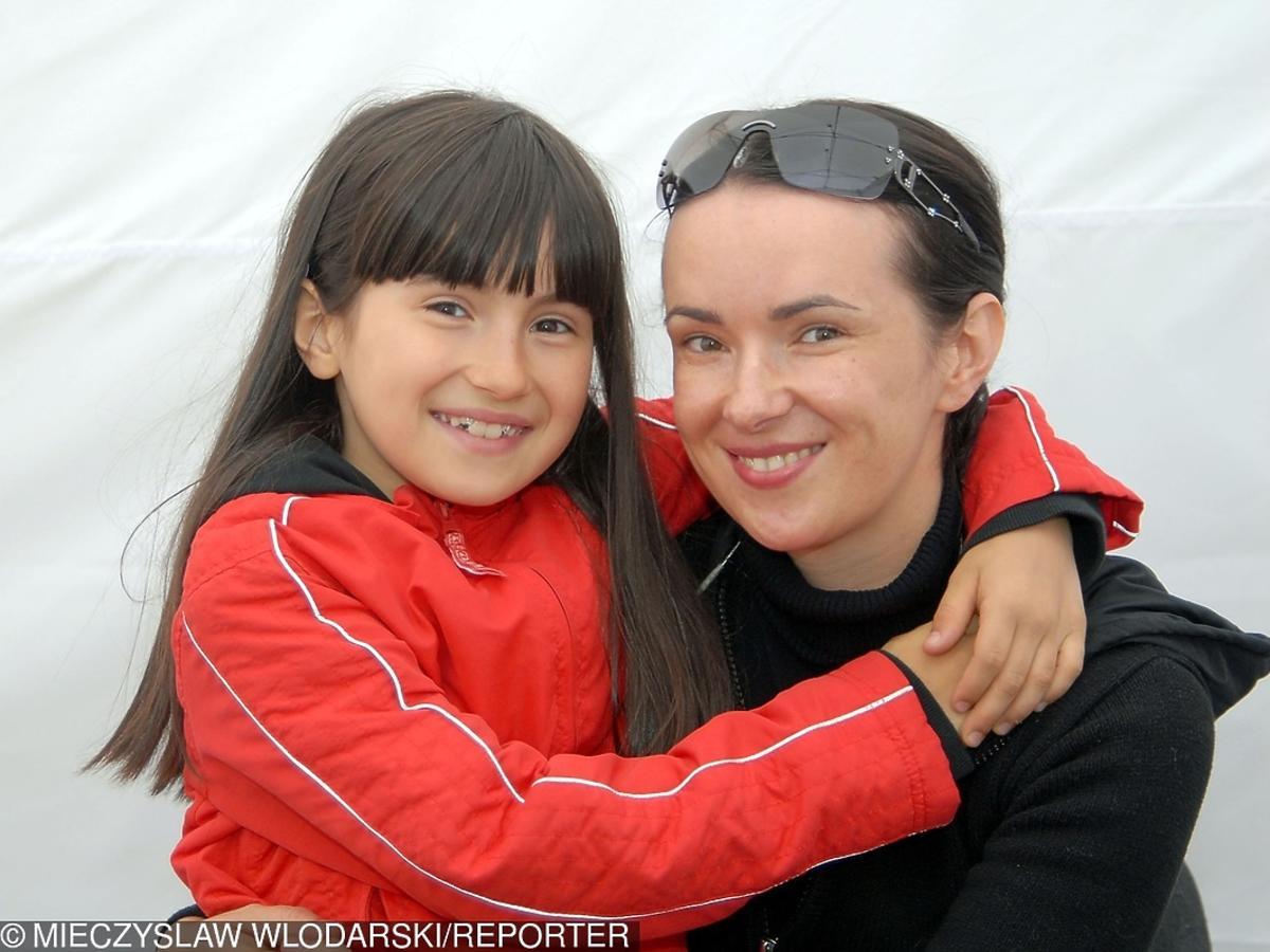 Kasia Kowalska z córką, Olą