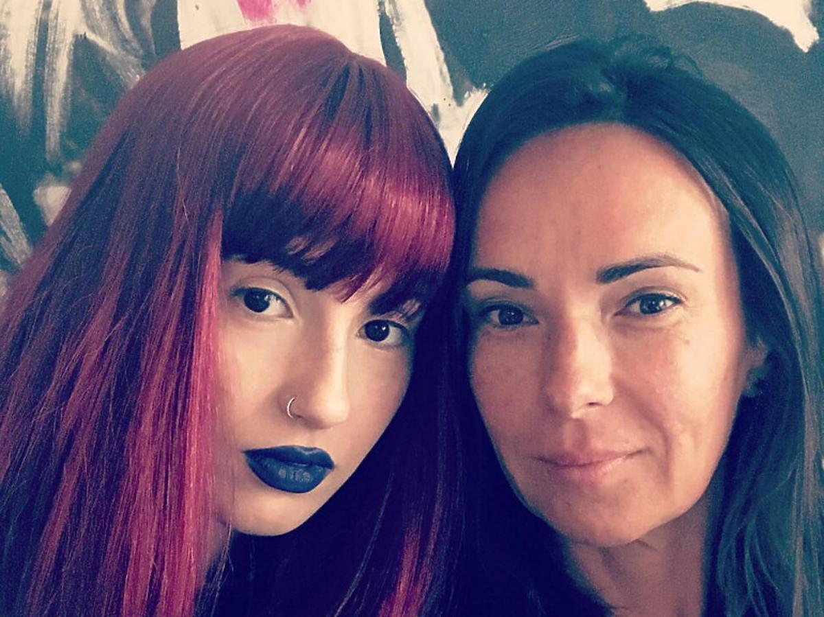 Kasia Kowalska z córką, Olą Kowalską
