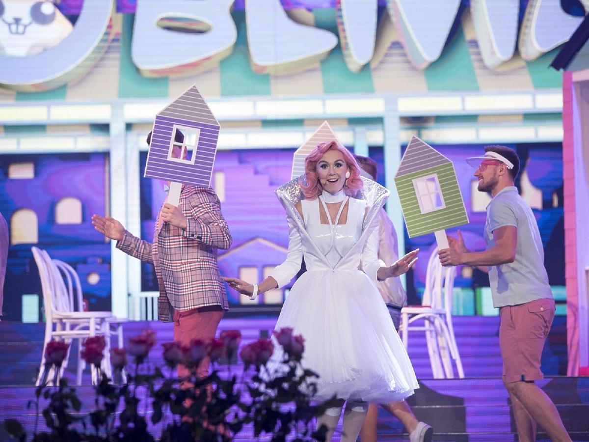 Kasia Moś jako Katy Perry w 3. odcinku TTBZ