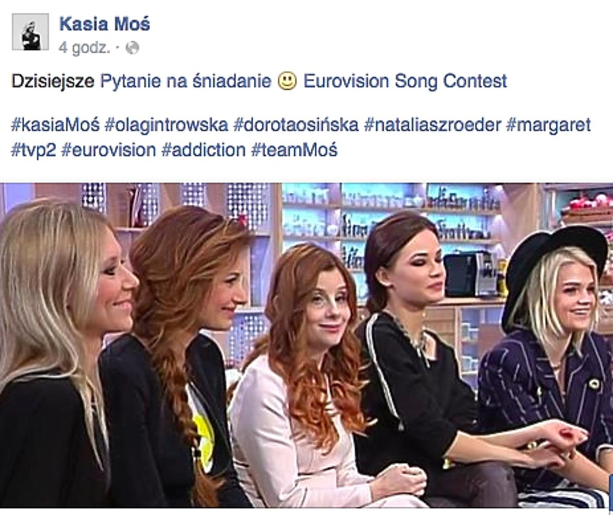 Kasia Moś, Margaret, Szroeder, Gintrowska
