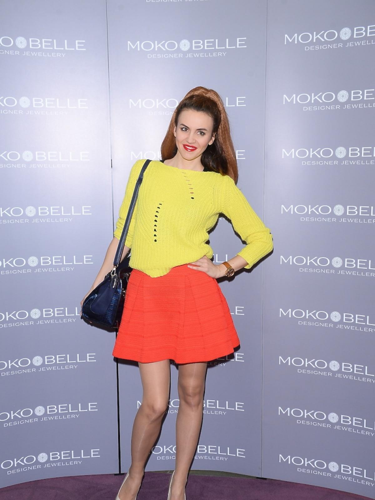 Kasia Nova na otwarciu butiku Mokobelle