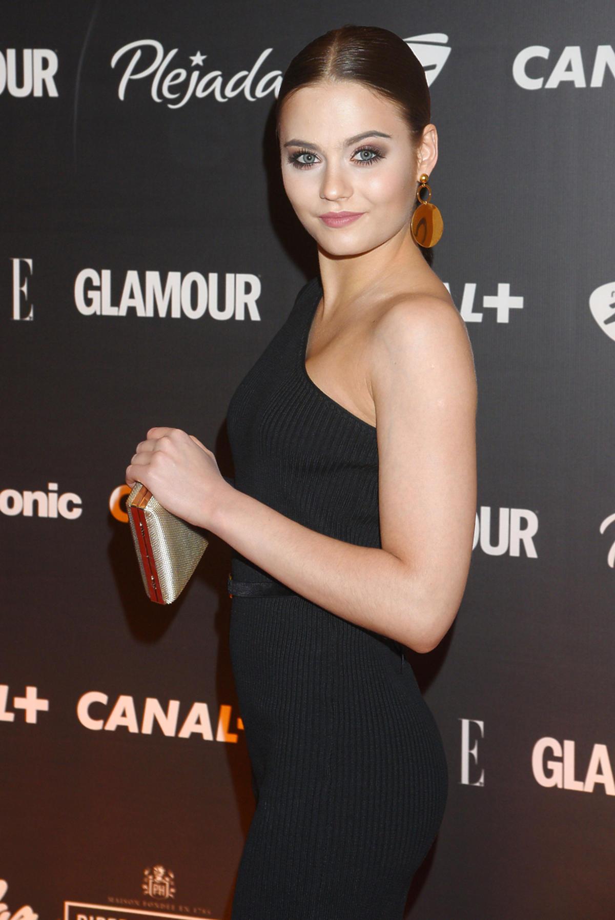 Kasia Sawczuk podczas Wieczoru Oscarowego z Canal Plus