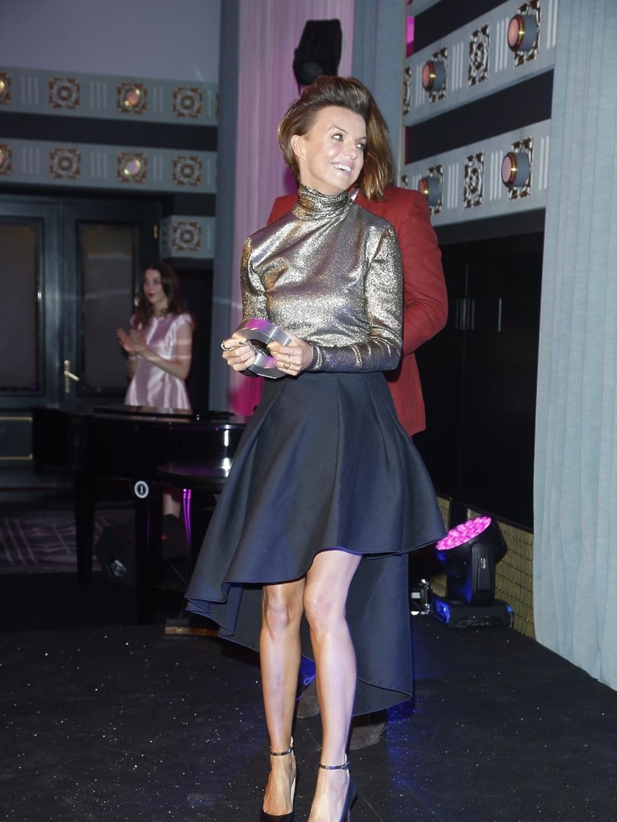 Kasia Sokołowska na Kobieta Roku Glamour 2014