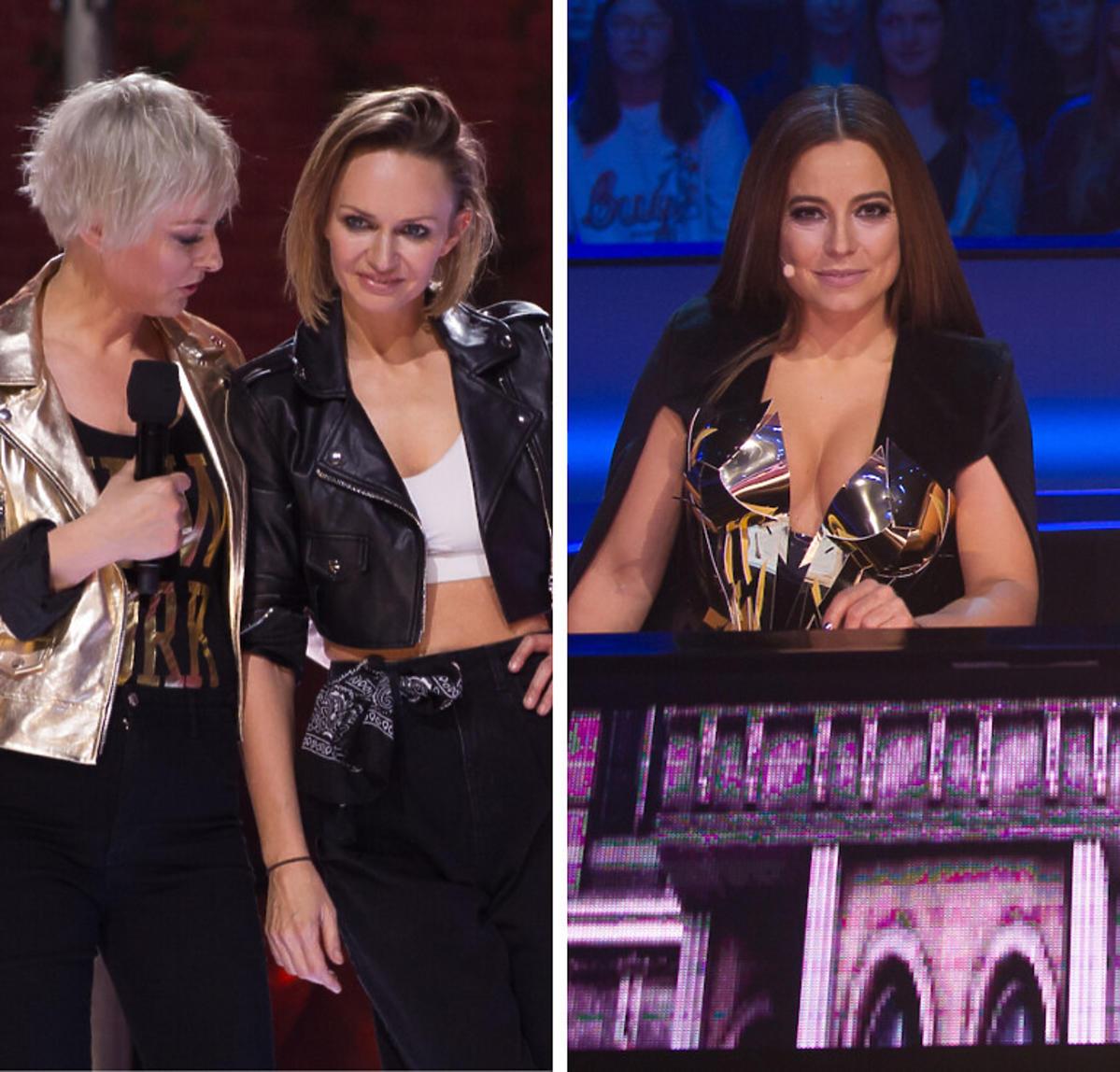 Kasia Stankiewicz z siostrą, Anna Mucha na planie Dance, dance, dance 2