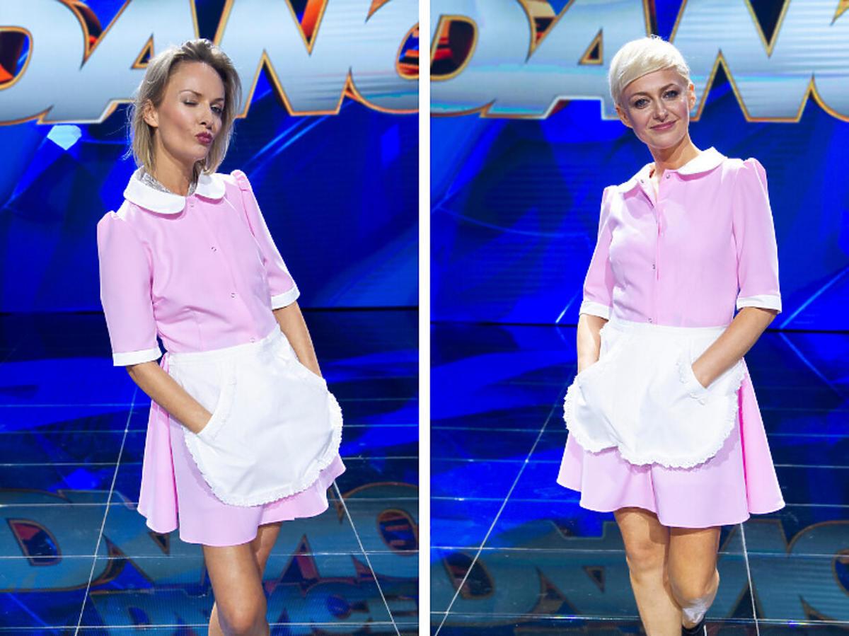 Kasia Stankiewicz z siostrą Dance dance dance
