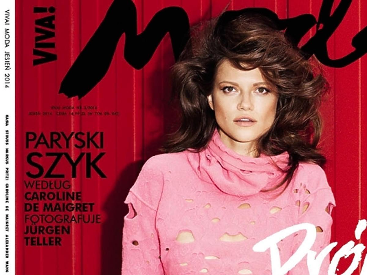 Kasia Struss na okładce Viva Moda