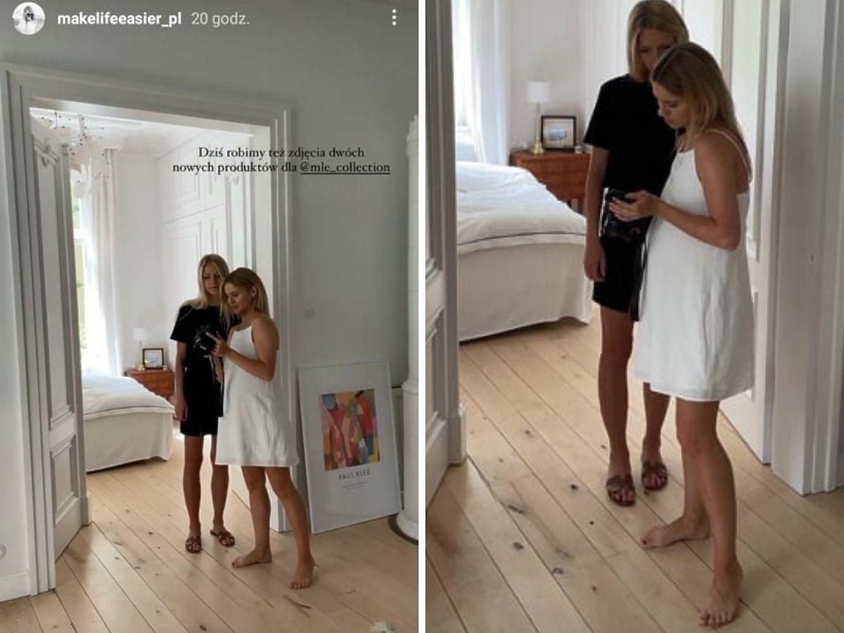 Kasia Tusk pokazała ciążowy brzuszek w biaej sukience