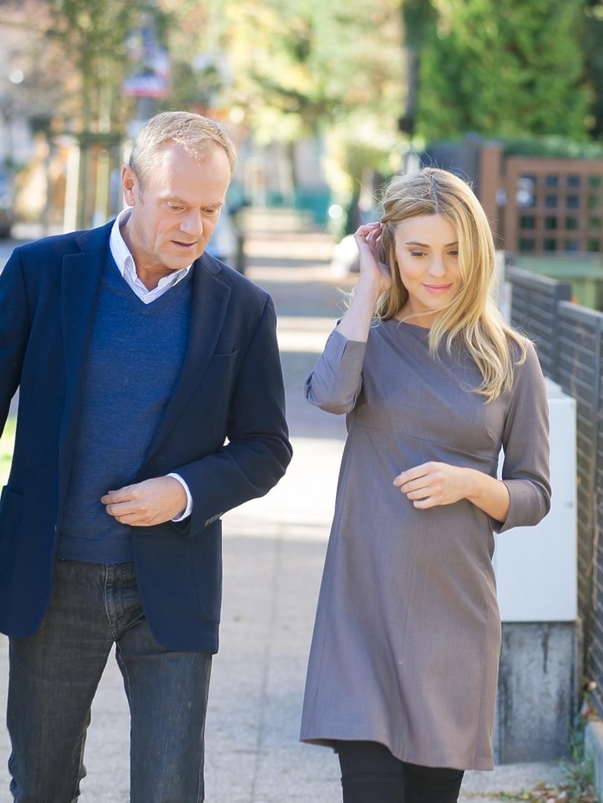 Kasia Tusk w ciąży na wyborach samorządowych