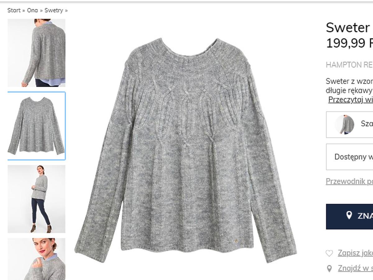 Kasia Tusk w swetrze w paski