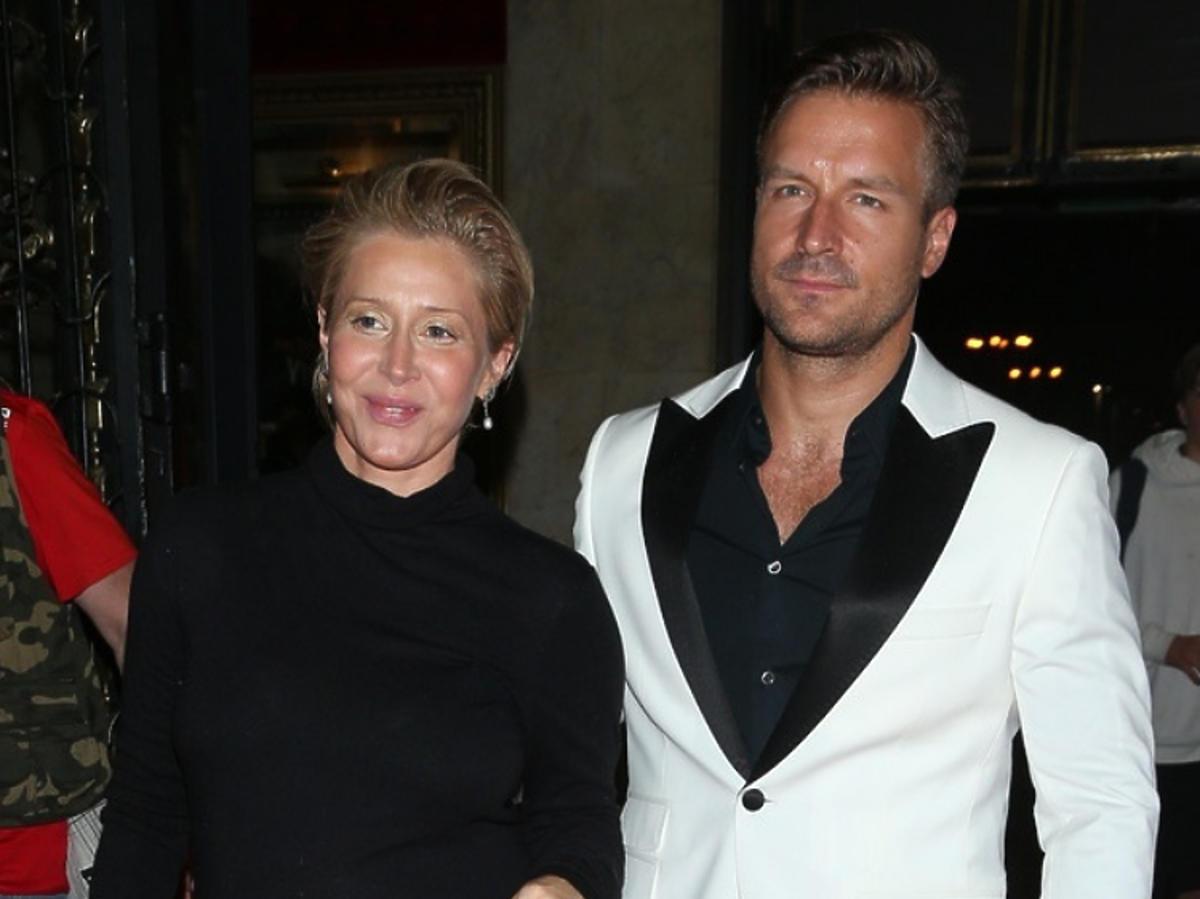 Kasia Warnke w ciąży z mężem Piotr Stramowski