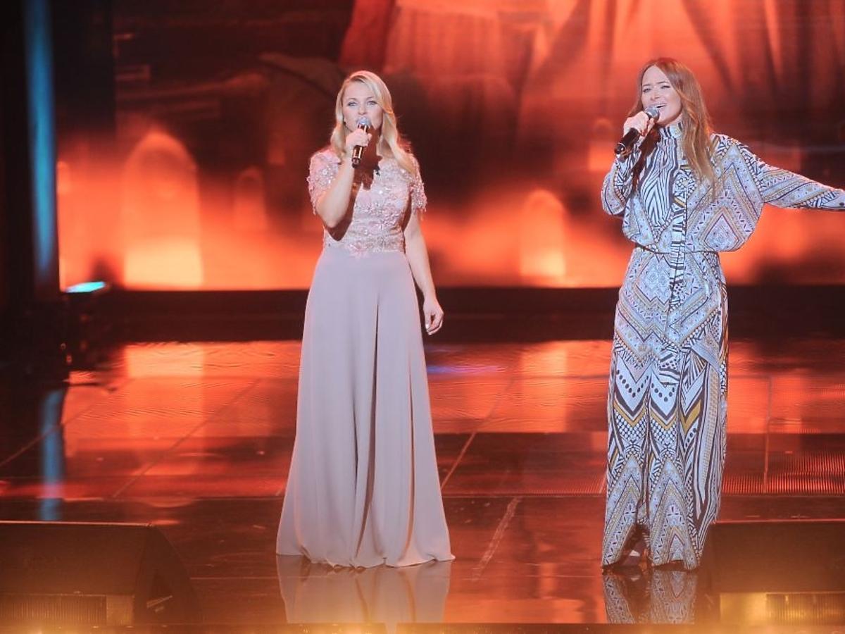 Katarzyna Bujakiewicz i Anna Rusowicz na świątecznym koncercie Listy do M