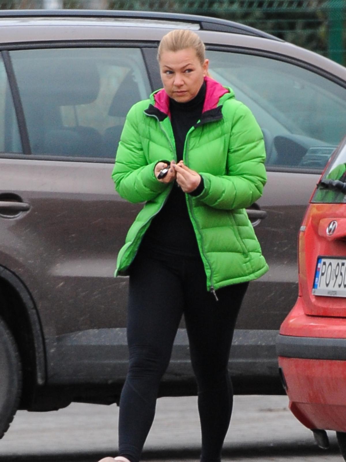 Katarzyna Bujakiewicz w dresie