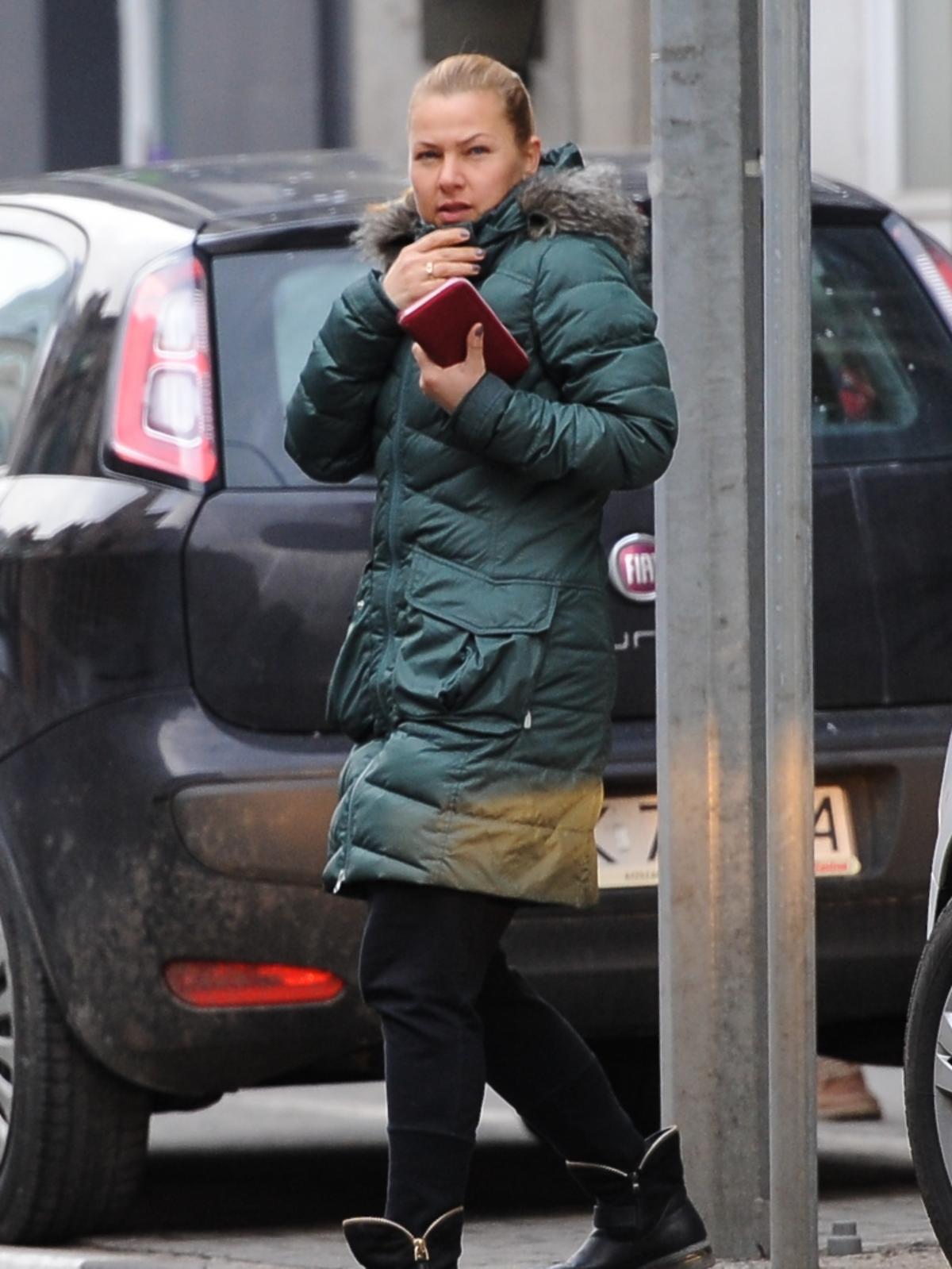Katarzyna Bujakiewicz w płaskich butach