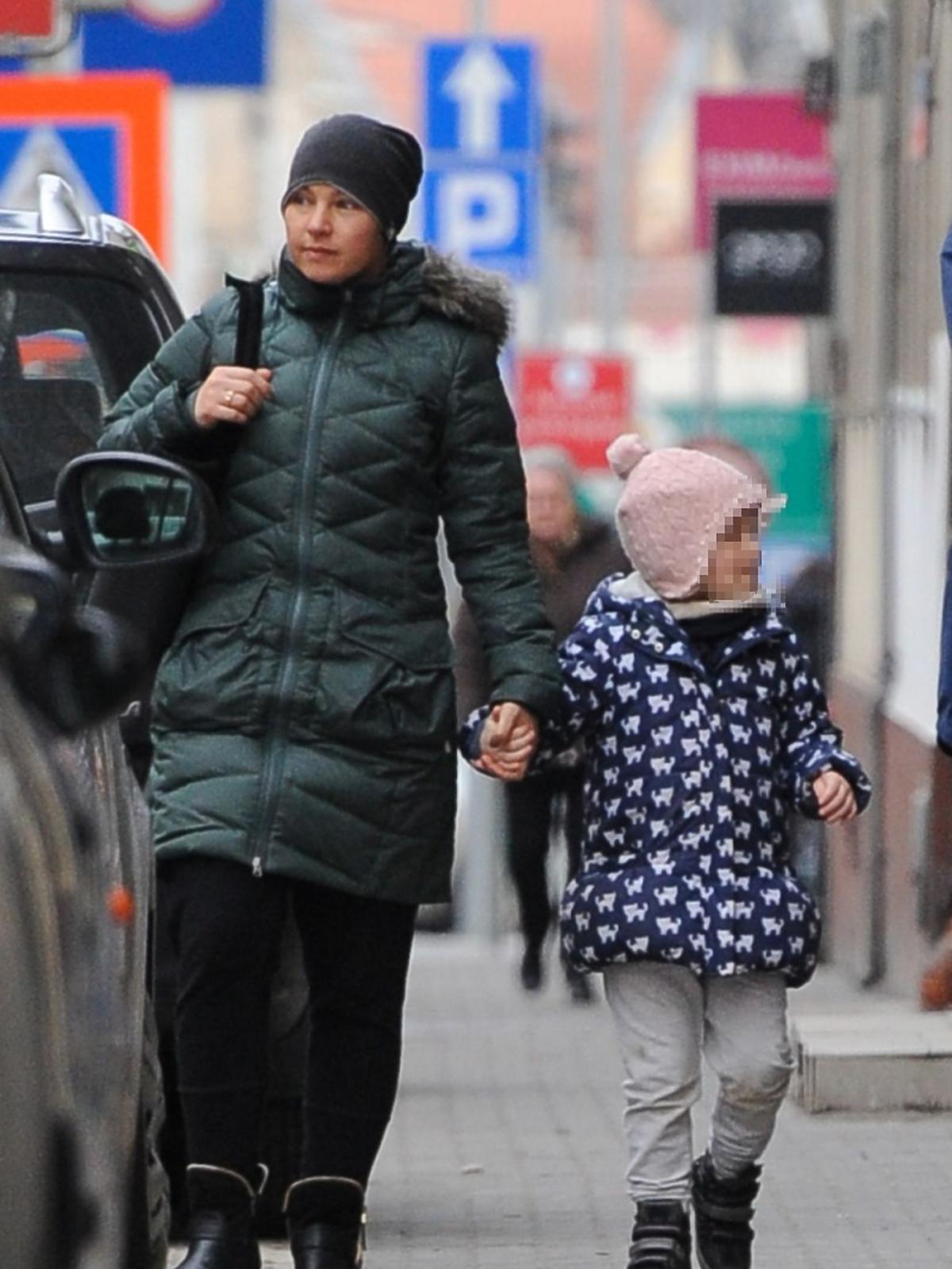 Katarzyna Bujakiewicz z córką