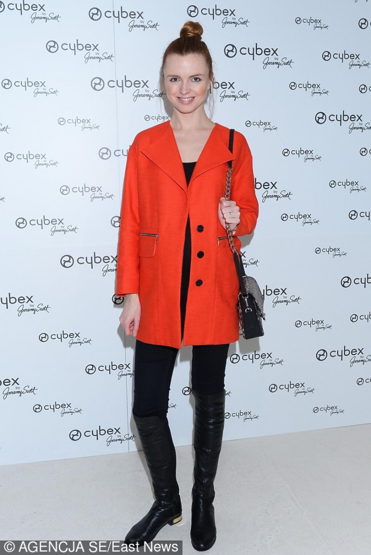 Katarzyna Burzyńska na premierze kolekcji Cybex by Jeremy Scott