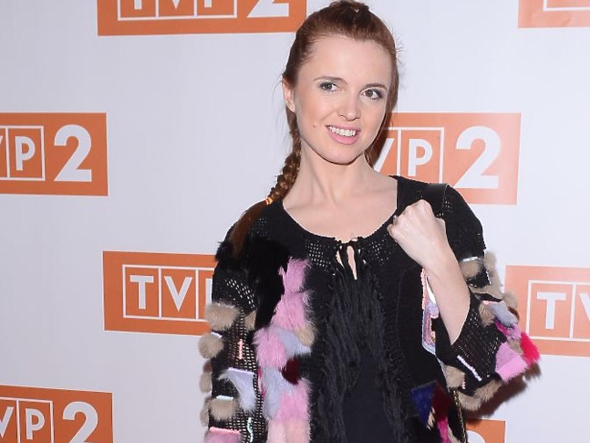 Katarzyna Burzyńska na ramówce TVP 2