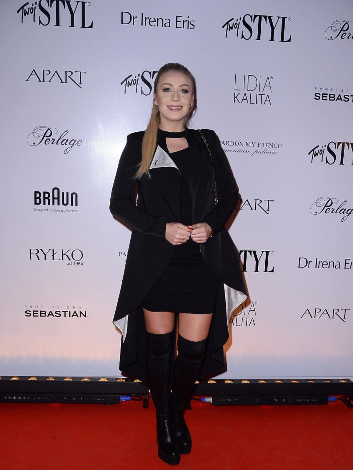 Katarzyna Cerekwicka na imprezie Doskonałość Mody Twojego Stylu