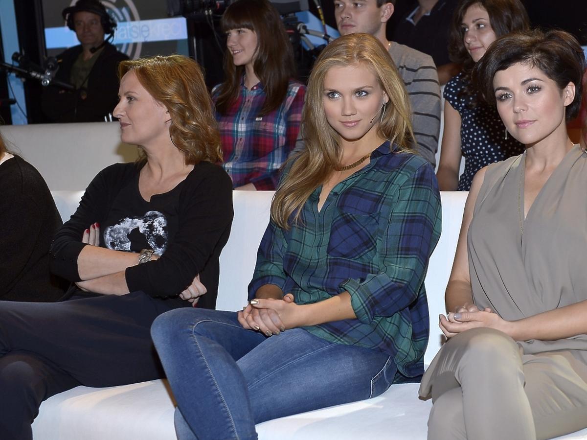 Katarzyna Cichopek, Agnieszka Kaczorowska, Izabela Kuna w programie Świat się kręci