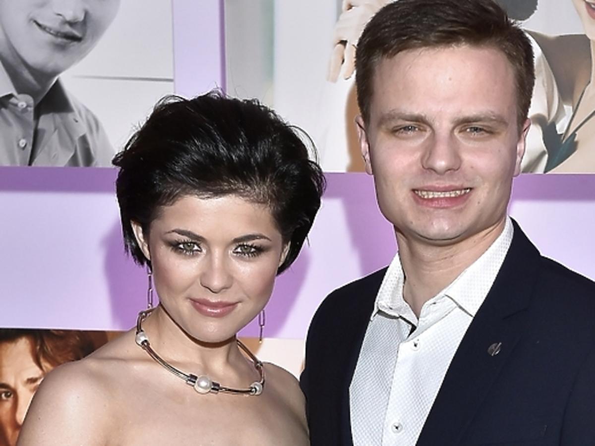 Katarzyna Cichopek i Marcin Hakiel na rozdaniu Srebrnych Jabłek Pani 2015
